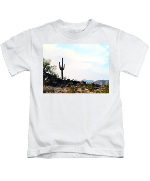 Kids T-Shirt featuring the photograph Airizona Home Sweet Home by Judy Kennedy