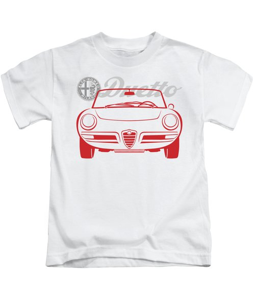 Alfa Duetto Spider-2 Kids T-Shirt