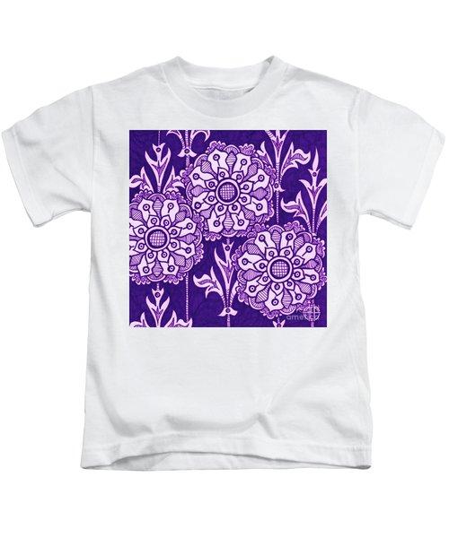 Alien Bloom 1 Kids T-Shirt