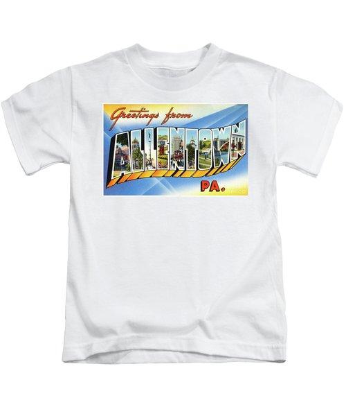 Allentown Greetings Kids T-Shirt