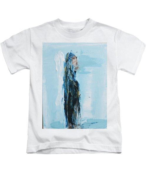 Angel With Child Kids T-Shirt