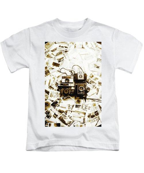 Antique Albums Kids T-Shirt