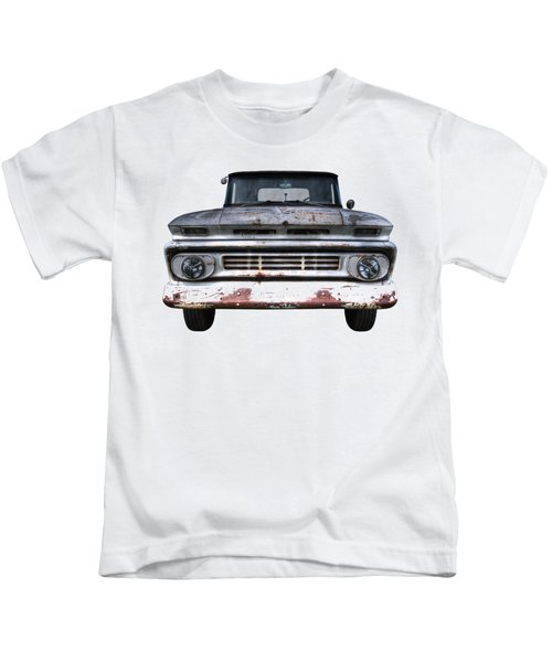 Rust And Proud - 62 Chevy Fleetside Kids T-Shirt