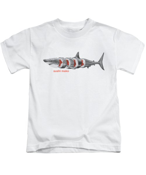 Sushi Mako Kids T-Shirt