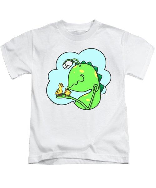 Monster Kissing Ducklings Kids T-Shirt