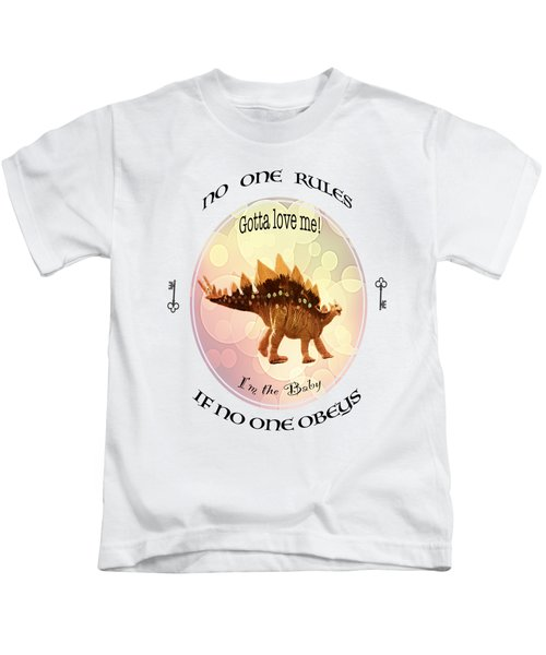 No One Rules If No One Obeys By Olena Art Kids T-Shirt