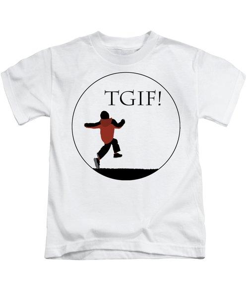 Tgif - Transparent Kids T-Shirt