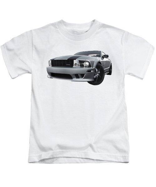 Saleen Mustang Sunset Kids T-Shirt