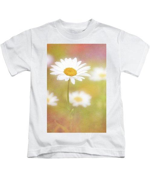 Delightful Daisy Portrait Kids T-Shirt