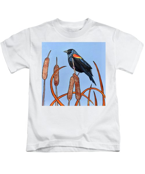 At The Pond Kids T-Shirt