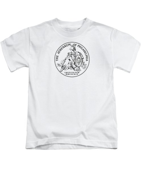 Athenaeum Of Philadelphia Logo Kids T-Shirt