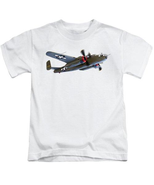 B-25 Mitchell Bomber Kids T-Shirt