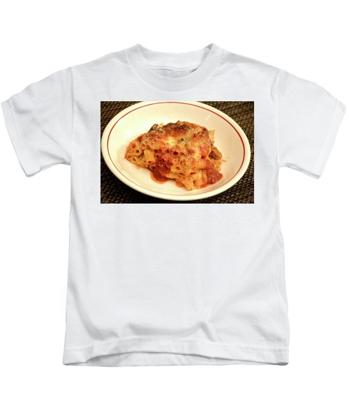 Baked Ziti Serving Kids T-Shirt