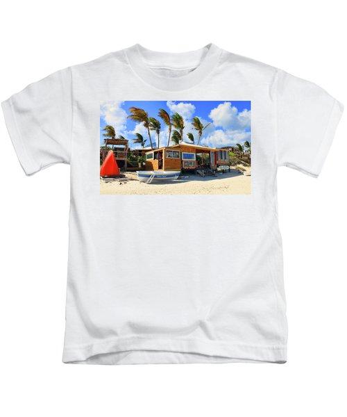 Bankie Banxs Dunes Preserve Beach Bar Kids T-Shirt