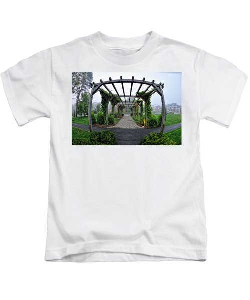 Bar Harbor Pergola Kids T-Shirt