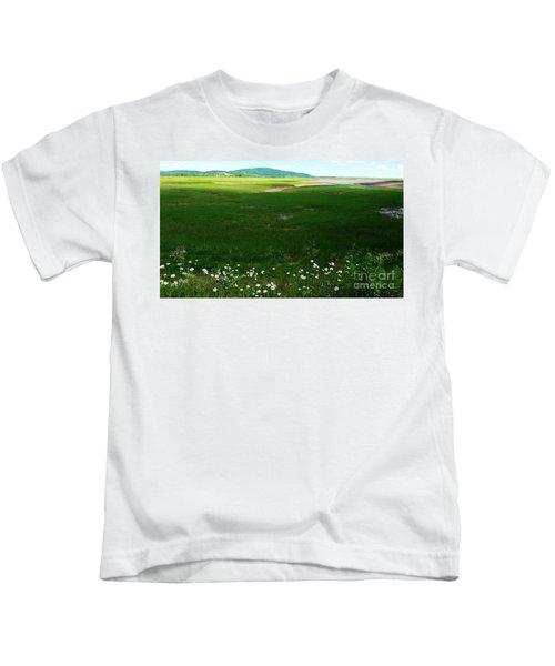 Bay Of Fundy Landscape Kids T-Shirt