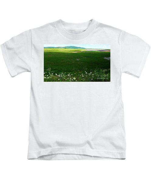 Bay Of Fundy Landscape Kids T-Shirt
