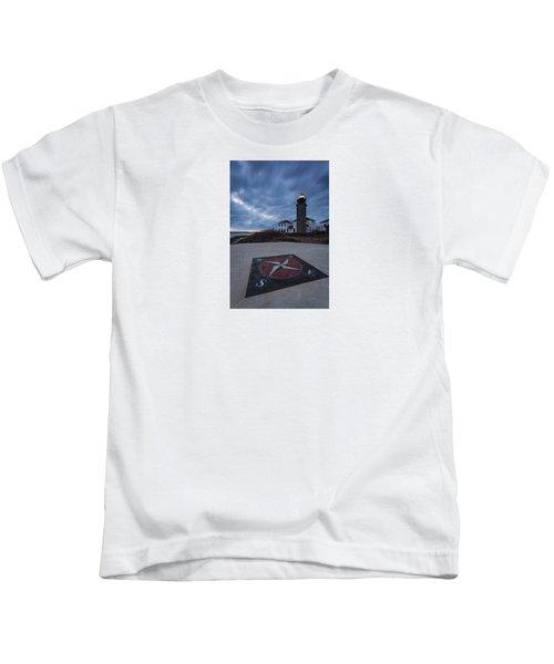 Beavertail Lighthouse Kids T-Shirt