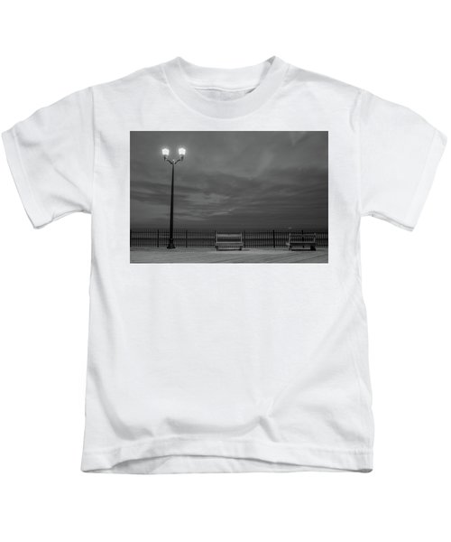 Before Dawn On The Boards Kids T-Shirt