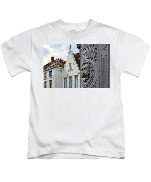 Belgian Coat Of Arms Kids T-Shirt
