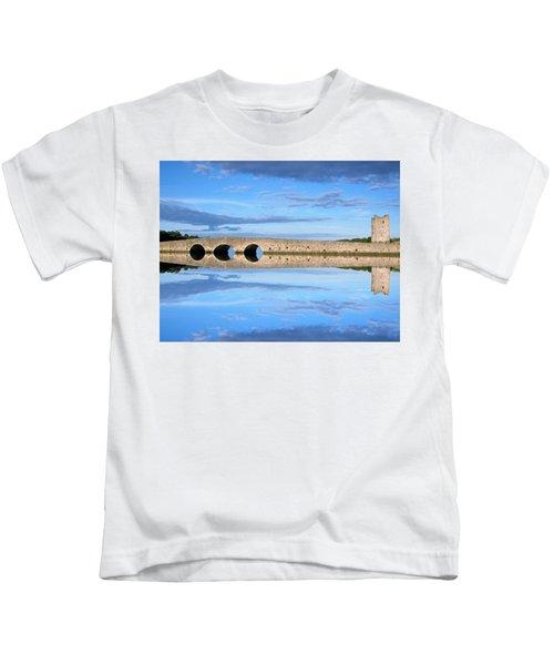 Belvelly Castle Reflection Kids T-Shirt