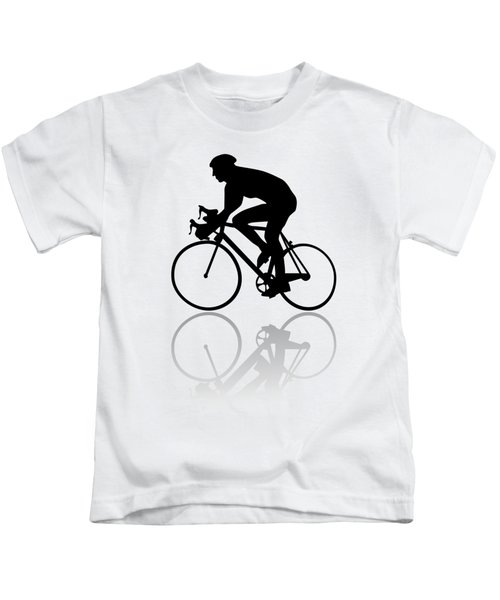Bicycle Shadow Kids T-Shirt