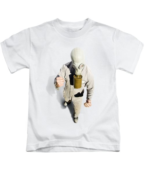 Biohazard Battle Kids T-Shirt