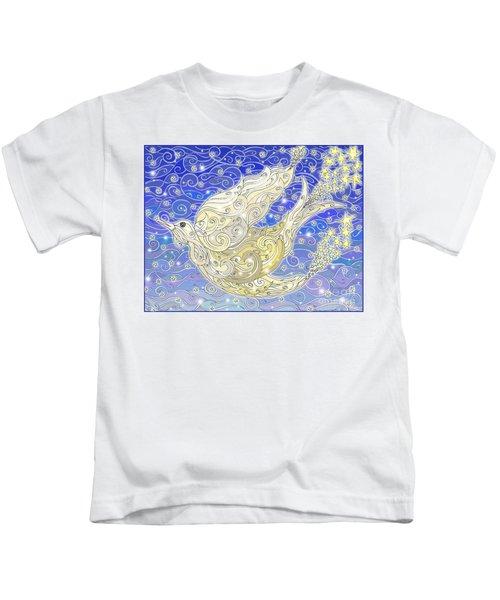 Bird Generating Stars Kids T-Shirt