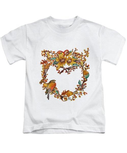 Bittersweet Wreath Kids T-Shirt