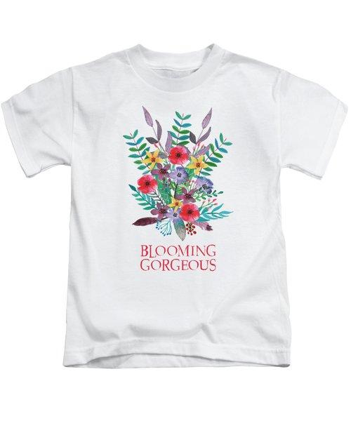 Blooming Gorgeous Kids T-Shirt
