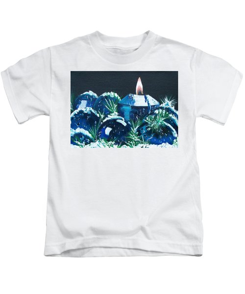 Blue Christmas  Kids T-Shirt