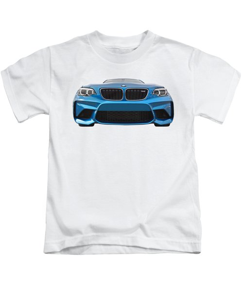 Bmw M2 Coming At You Kids T-Shirt