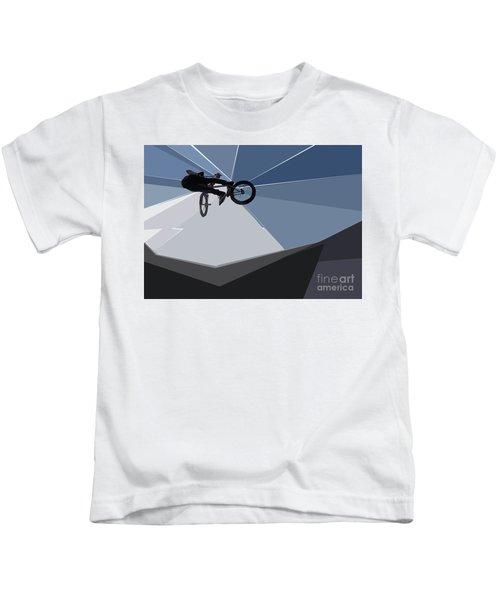 Bmx Biking  Kids T-Shirt