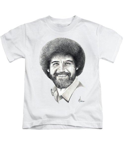 Bob Ross Kids T-Shirt