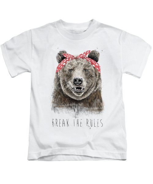 Break The Rules Kids T-Shirt