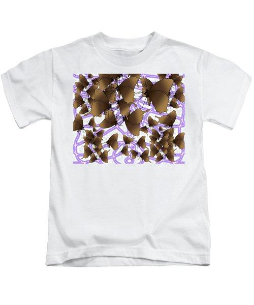 Butterfly Patterns 12 Kids T-Shirt