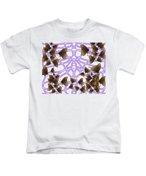 Butterfly Patterns 14 Kids T-Shirt