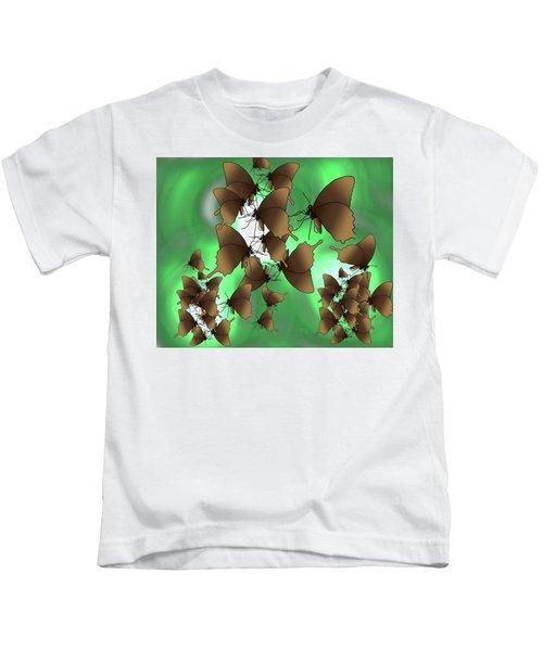 Butterfly Patterns 15 Kids T-Shirt
