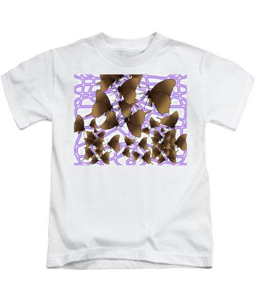 Butterfly Patterns 16 Kids T-Shirt