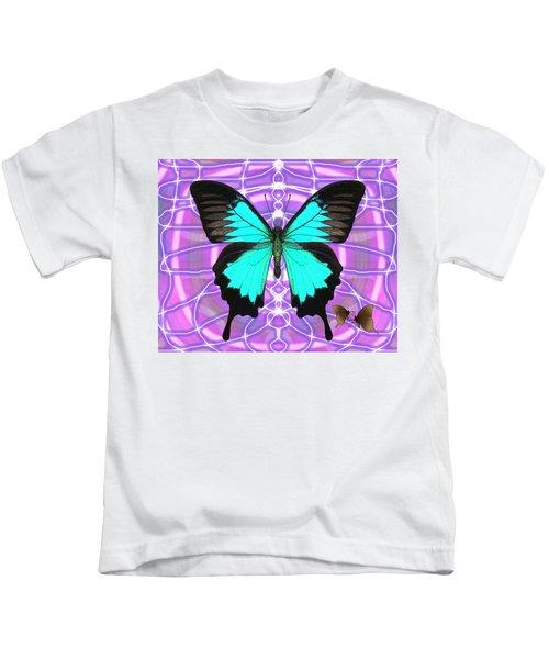 Butterfly Patterns 19 Kids T-Shirt