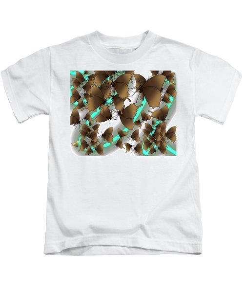 Butterfly Patterns 2 Kids T-Shirt