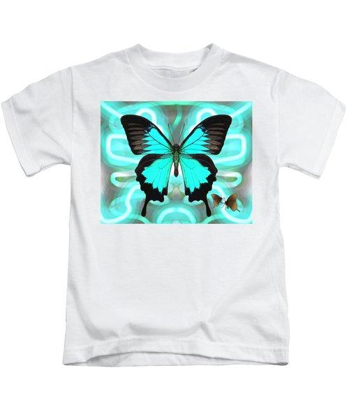 Butterfly Patterns 22 Kids T-Shirt