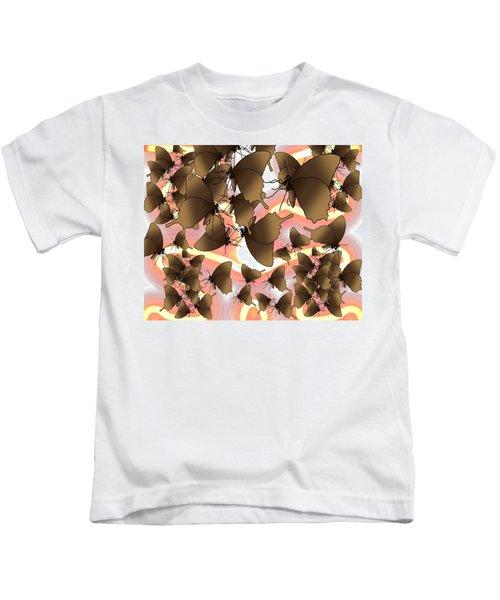 Butterfly Patterns 8 Kids T-Shirt