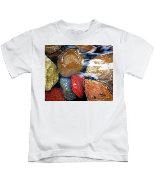 Calming Stones Kids T-Shirt