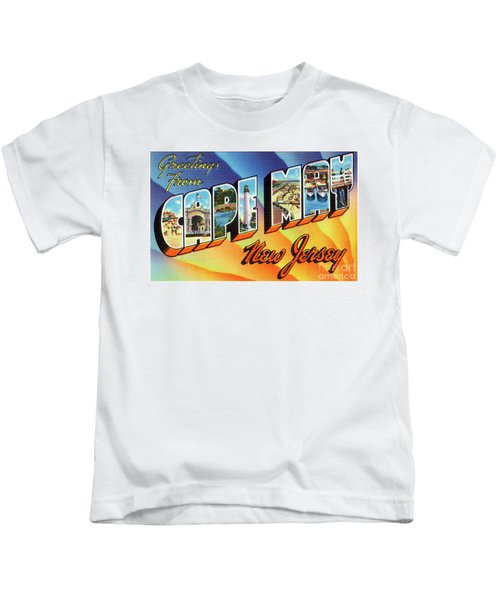 Cape May Greetings - Version 1 Kids T-Shirt