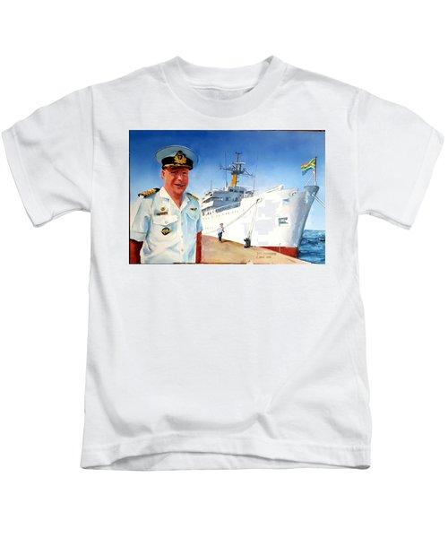 Capt Glen Hallett Kids T-Shirt
