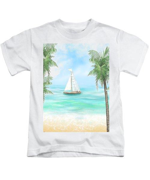 Carribean Bay Kids T-Shirt