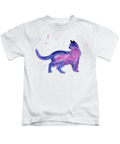 Cat In Space Kids T-Shirt