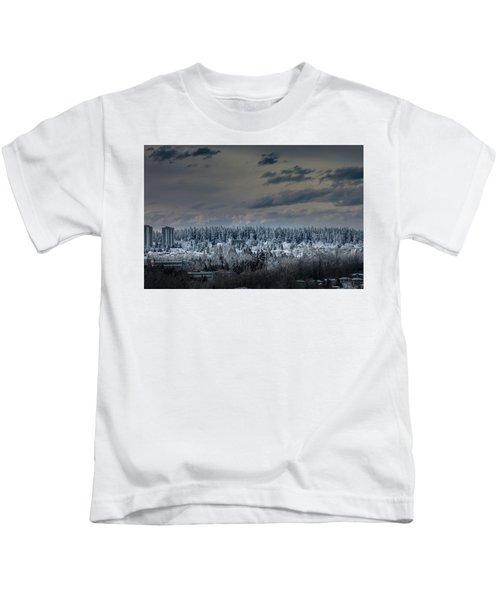 Central Park Winter Kids T-Shirt