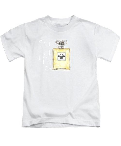 Chanel No. 5  Kids T-Shirt